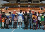 Tennis tournament visit-Aircel Chennai open 2014